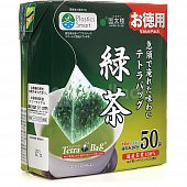 Чай зеленый Kunitaro Value Pack Sencha tea Bags 50 пак